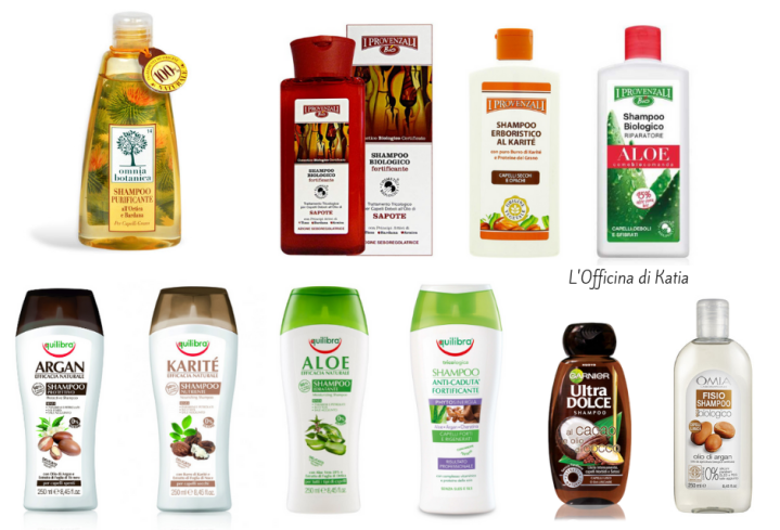 Shampoo da supermercato con buonInci