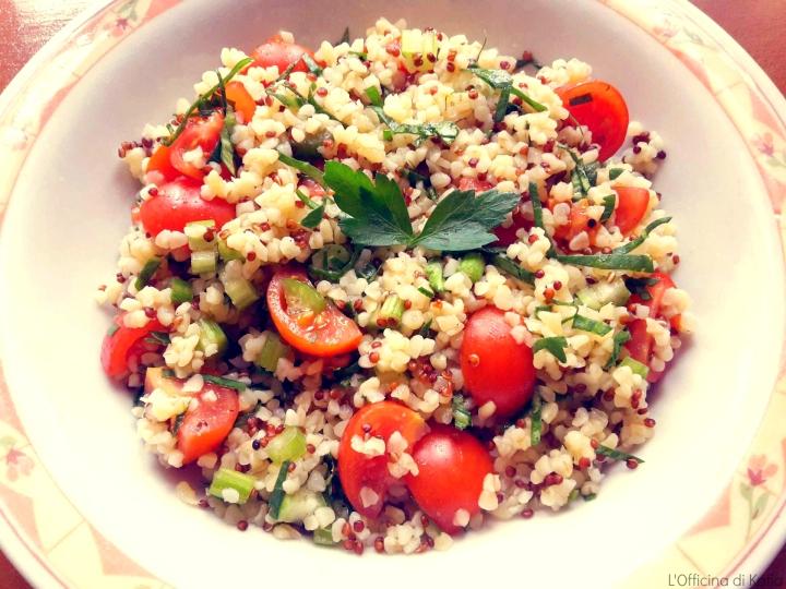 Taboulè con quinoa ebulgur