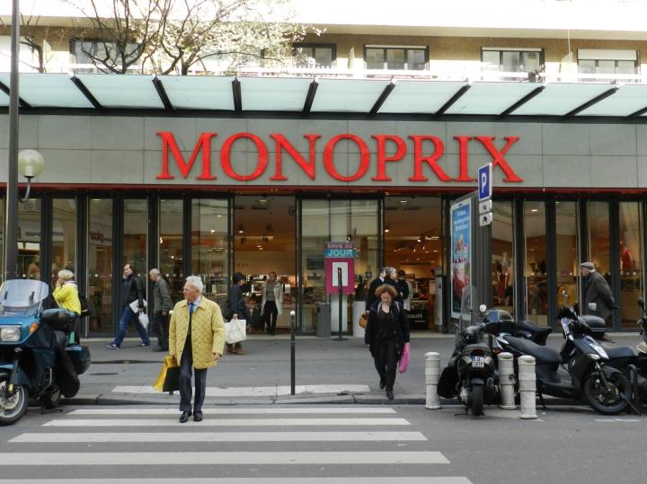 Visita+acquisti presso un supermercato Monoprix aParigi