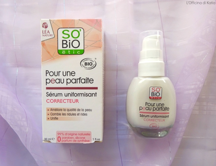 So'Bio – Pelle perfetta – Siero uniformante