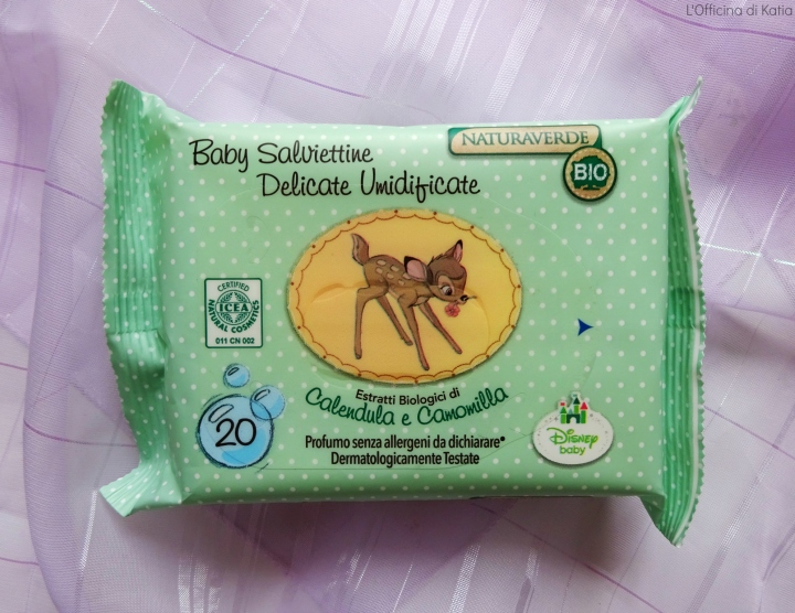 Naturaverde Bio – Baby salviettine delicateumidificate