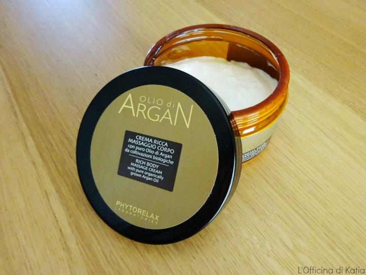 Phytorelax Laboratoires – Olio di Argan – Crema ricca massaggiocorpo