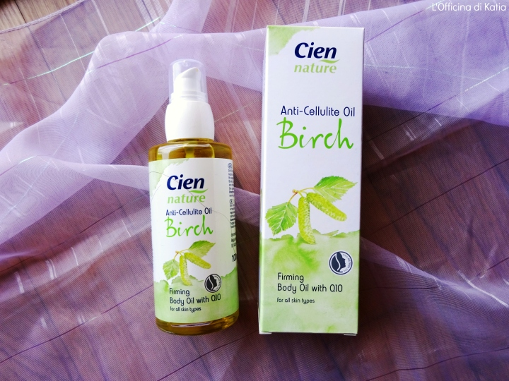 Cien Nature – Olio anticellulite al Birch