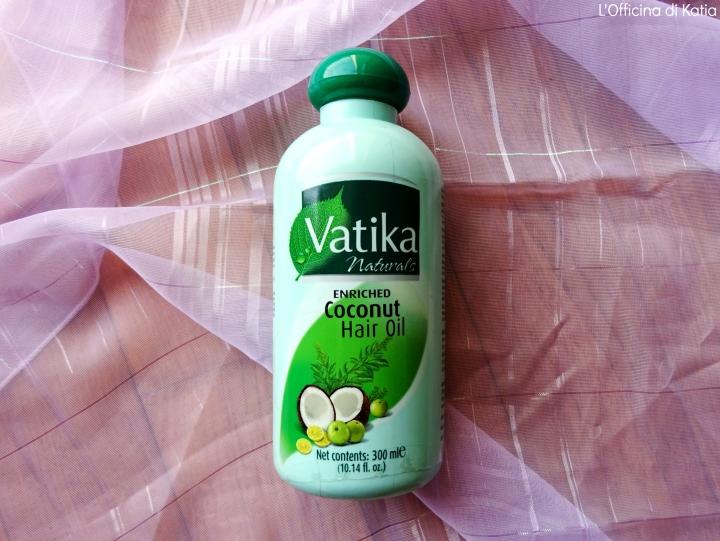 Dabur – Vatika – Olio di cocco per capelli (Enriched coconut hairoil)