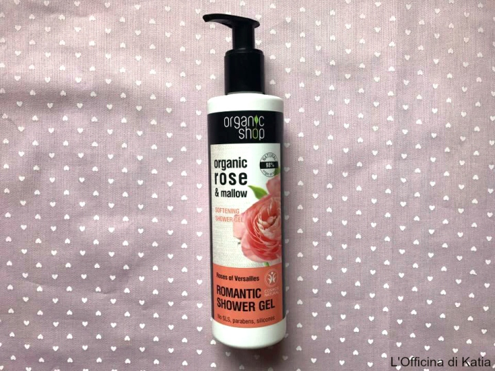 Organic Shop – Shower gel alla rosa di Versaille