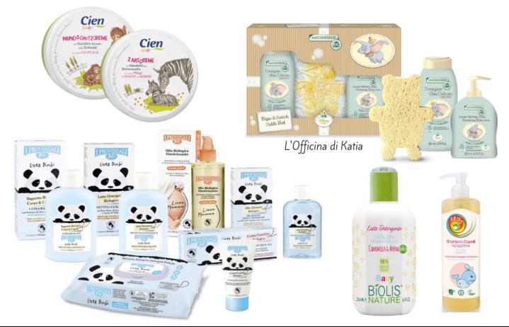 Cosmetici per neonati/bambini da supermercato con buonInci