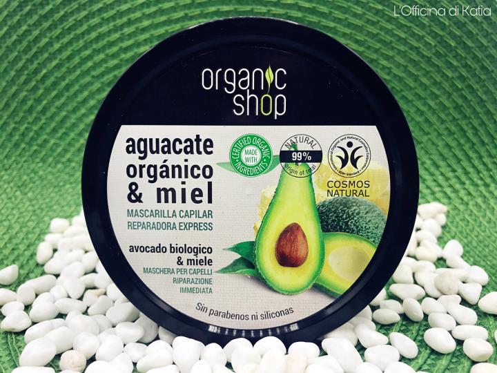 Organic Shop – Maschera capelli ristrutturante con Avocado eMiele