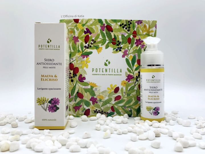 Potentilla – Siero antiossidante con Malva edElicriso