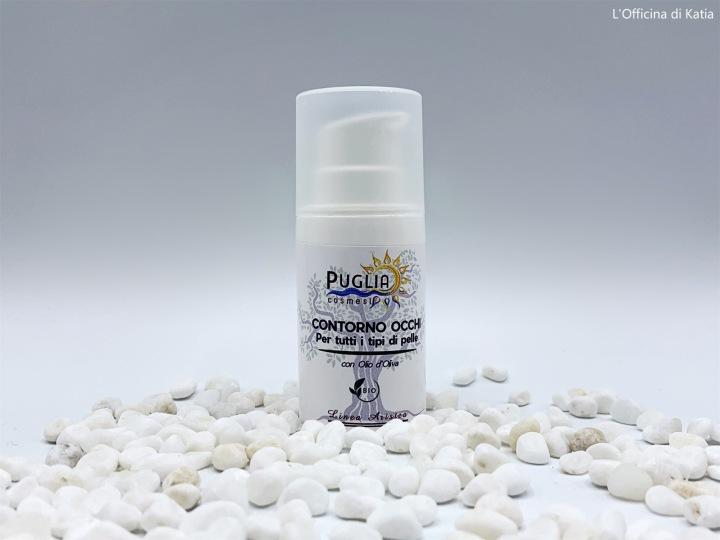 Puglia Cosmesi – Contorno occhi con Oliod'oliva